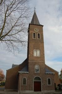 De H. Barbara kerk te Tungelroy